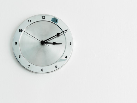 It´s time to change the clock