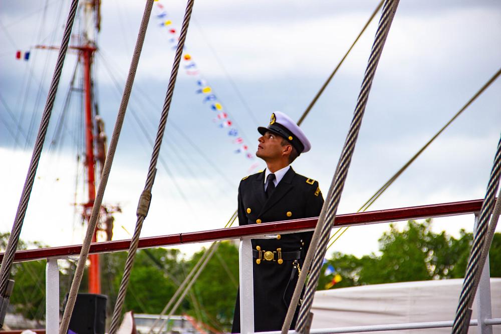 Seebestattung mit Ansprache vom Kapitän, ja oder nein?