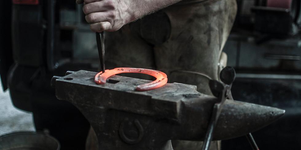 Beginning Blacksmith Class - Arts & Craftsmen Trail