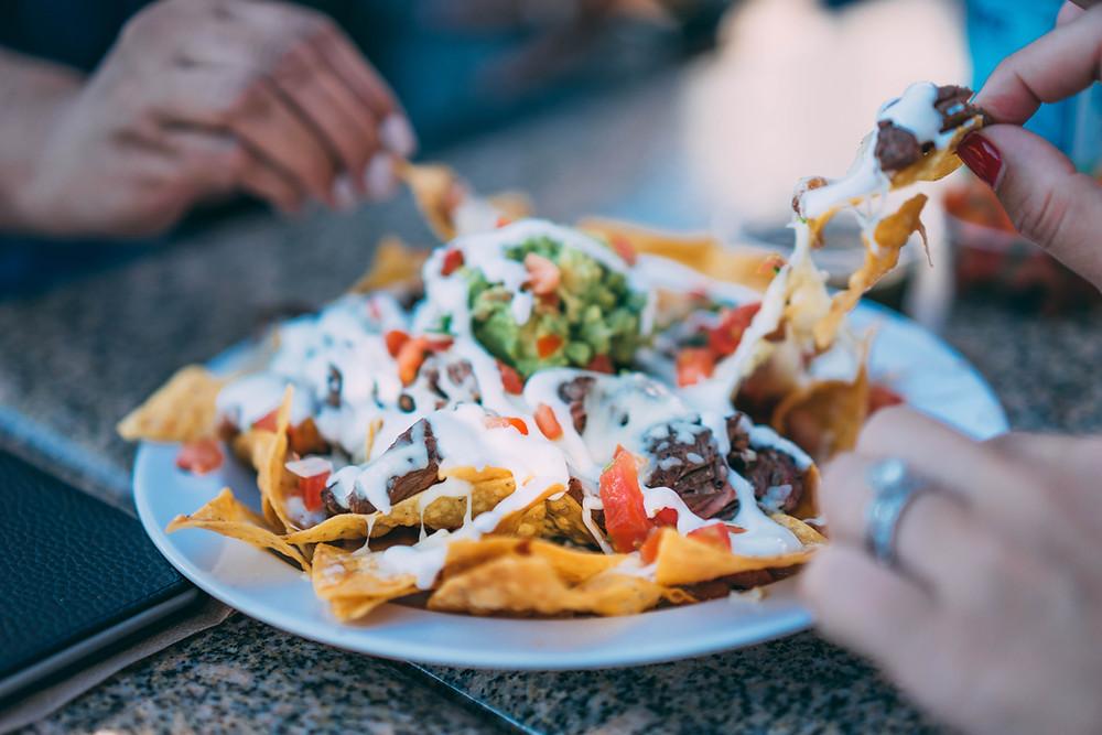 Sharing nachos