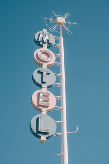 Vintage Motel Sign Image by ian dooley