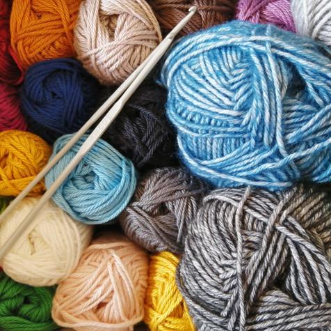 Knitting Circle in February