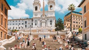 A mais famosa escadaria de Roma