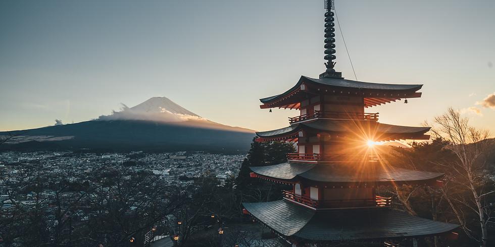 Zen Yoga Morning in the Japanese Garden (April 11)