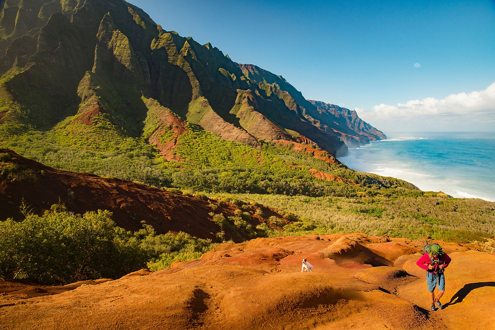kalalau hawaii trail is one of the world's best hikes