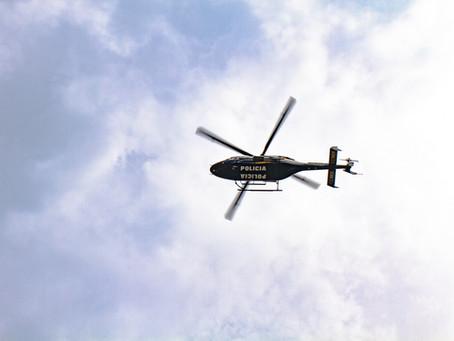 Operações aéreas de segurança pública e defesa civil