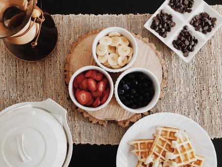 Il benessere inizia dalla colazione