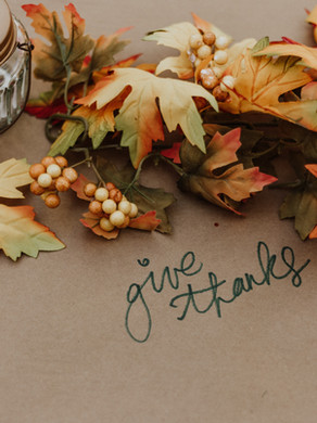24) GIVING THANKS