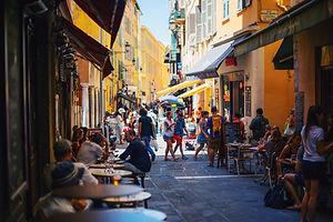 Cannes - old quarter - France