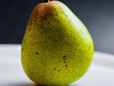 Pear - The Ultimate High Fiber Food
