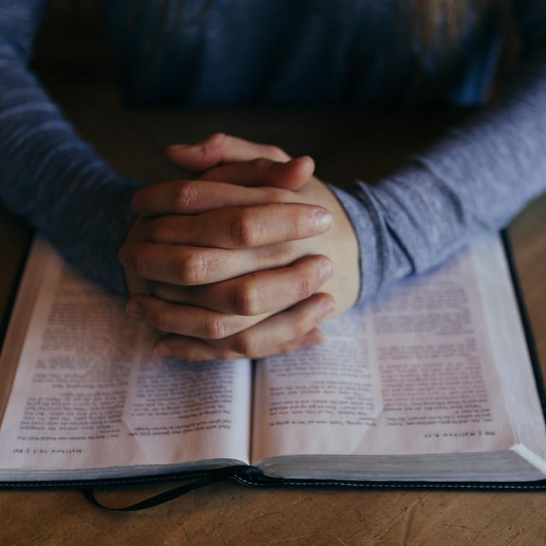 Monday evening prayer @ 6pm