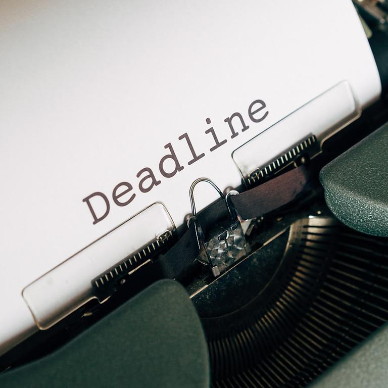 Parade Registration Deadline