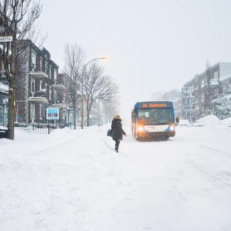 A quoi ressemble Montréal l'hiver?