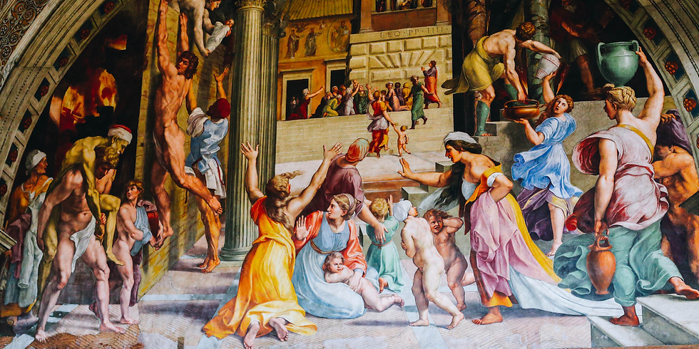 Free Vatican Virtual Visit : Raphael Rooms