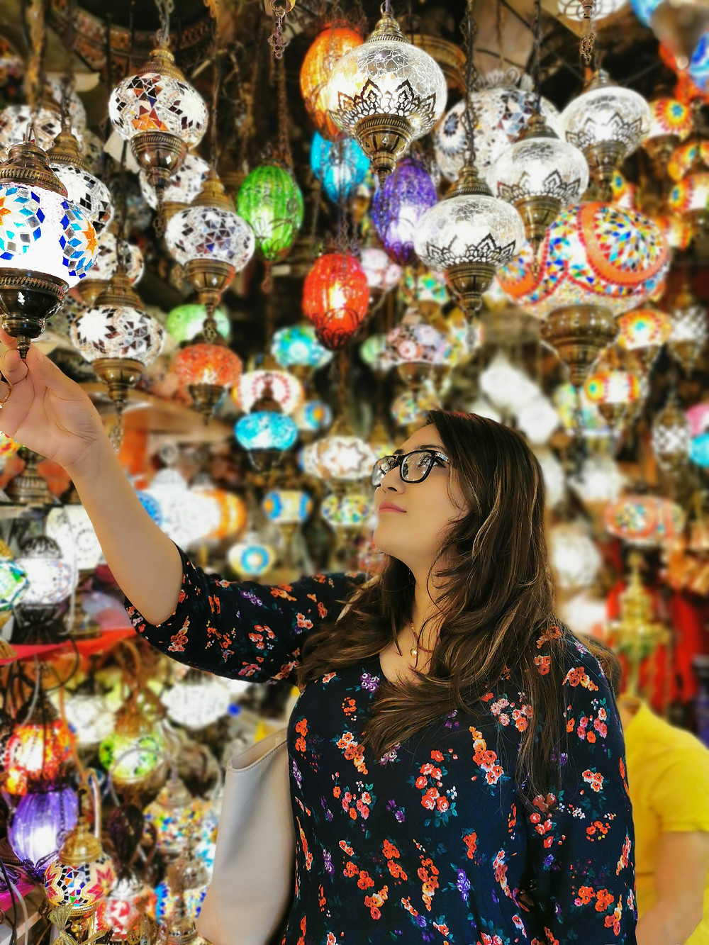 Lamps in the Grand Baazar Istanbul