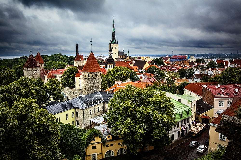 Estonia borders the Baltic Sea and Gulf of Finland. including more than 1,500 islands