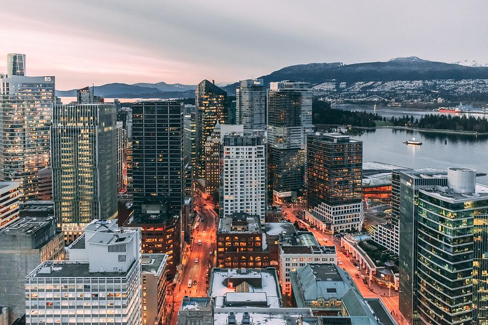 Cidade de Vancouver, no Canadá