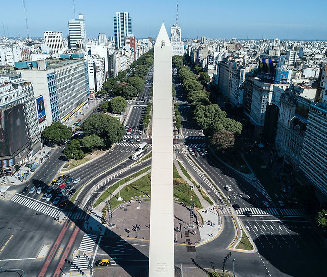 Buenos Aires city photo aerial