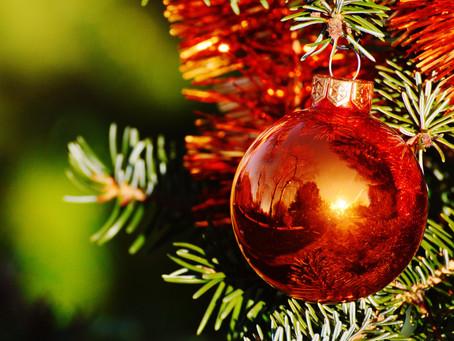 Frohe Weihnachten und ein schönes neues Jahr!