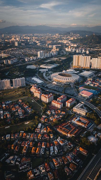 Bukit Jalil City Aerial View
