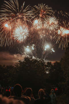 Spectacular fireworks for those memorable events