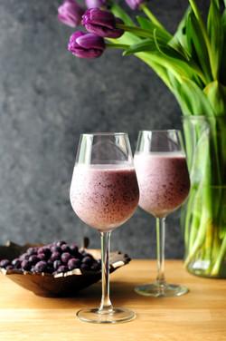 Blueberry and Zucchini