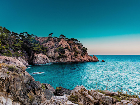 A beautiful picture of Spanish coast