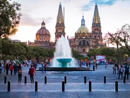 Tour a pie en el centro de Guadalajara