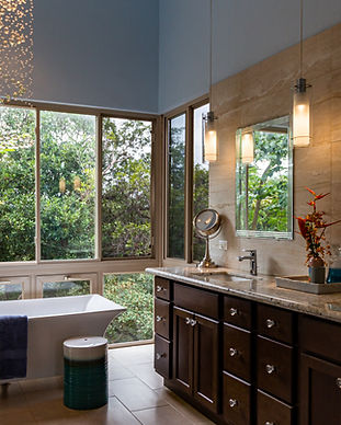 A verynice bathrom with granite top