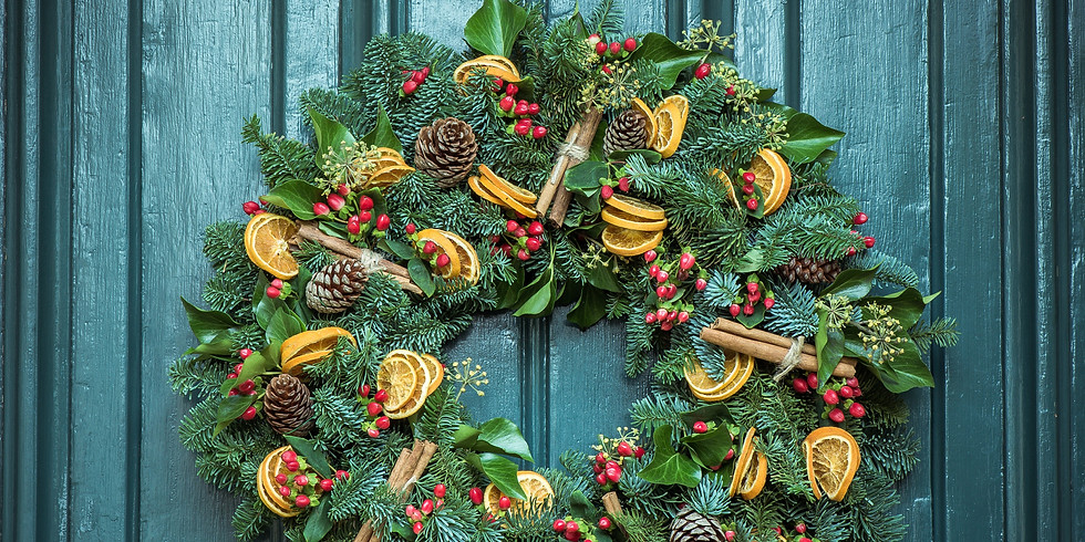 Festive yoga & Wreath Making