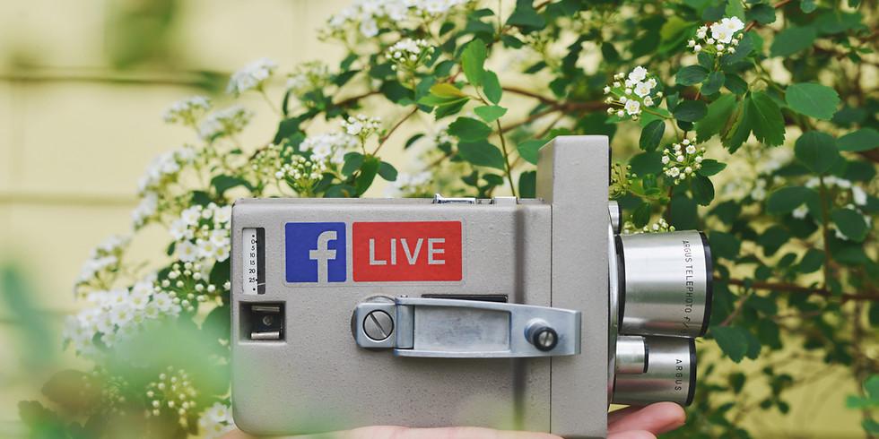 Servicio Dominical en Facebook Live