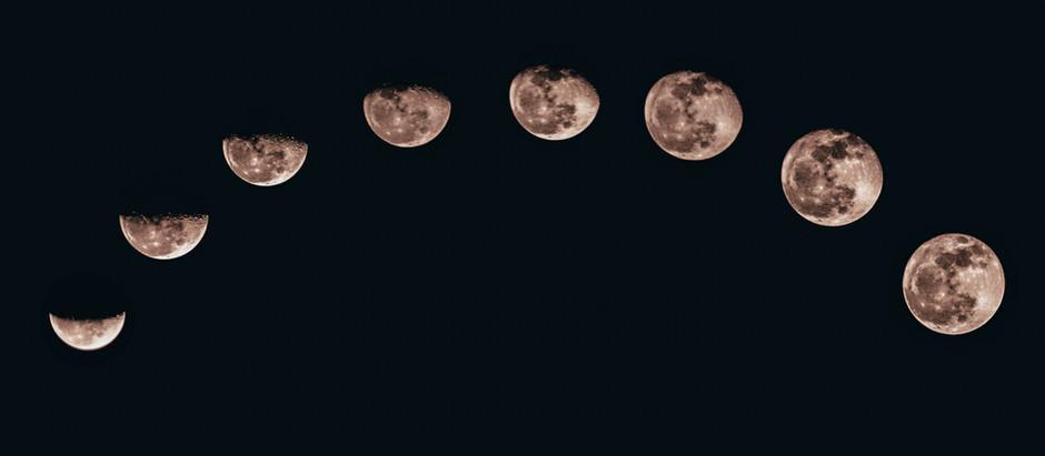Fases da Lua e Energização de Cristais