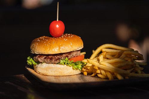 6pk Pork Burger - 2 lb