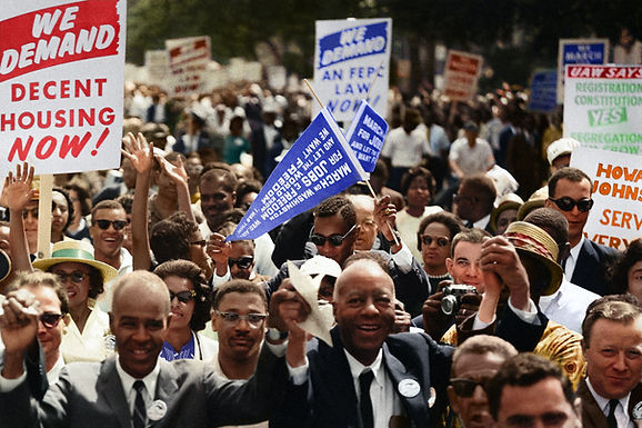 The Road to Civil Rights is Long and Wide