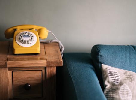 16. Telefoon aansluiting