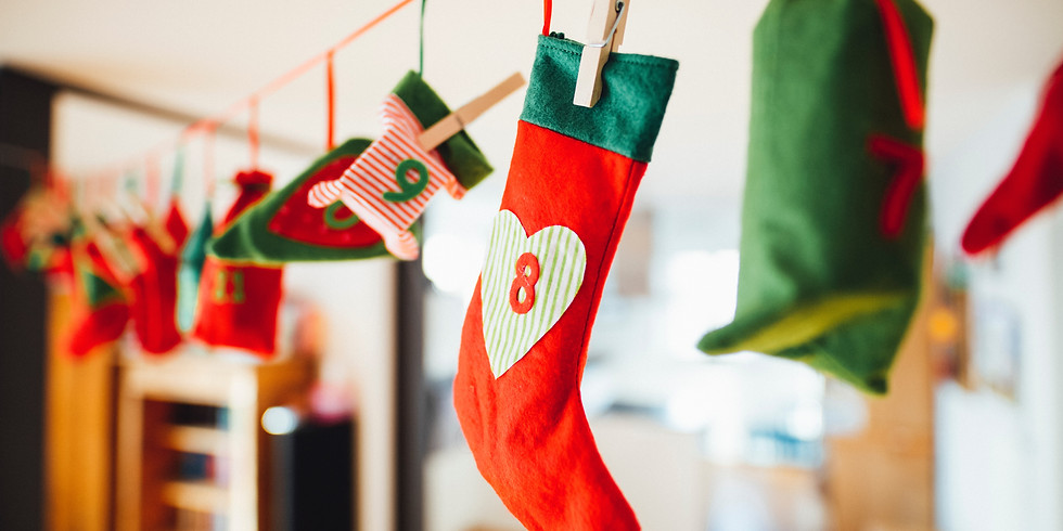 Christmas Stocking Decorating $10