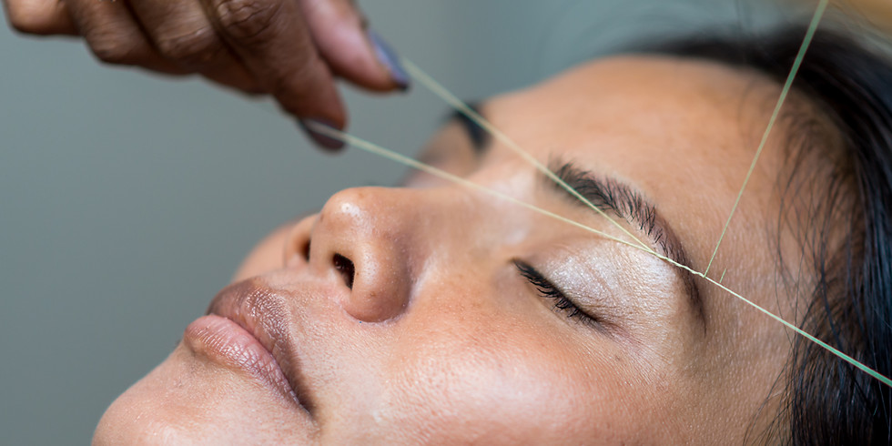 EYEBROW THREADING COURSE (morning session)