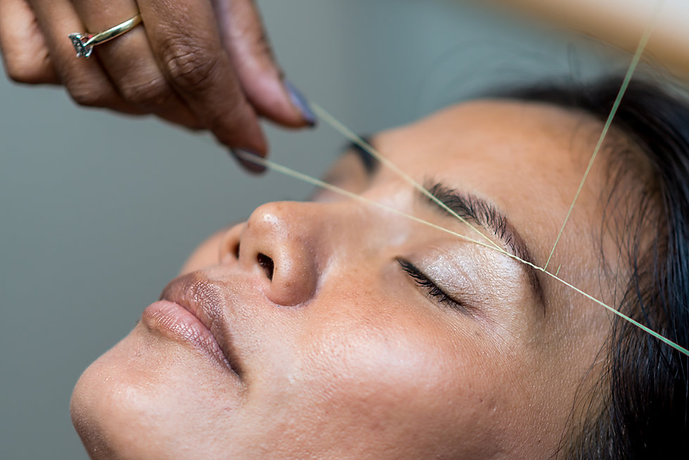 Facial and Eyebrow Threading Courses LX Day Spa