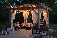 Deck Lighting, Pergola Lighting, Railing Lights, Deck Stair Lighting, Outdoor Lighting Installer, Summit Outdoor Designs, Deck Builder, Exterior Lighting, Patio Builder