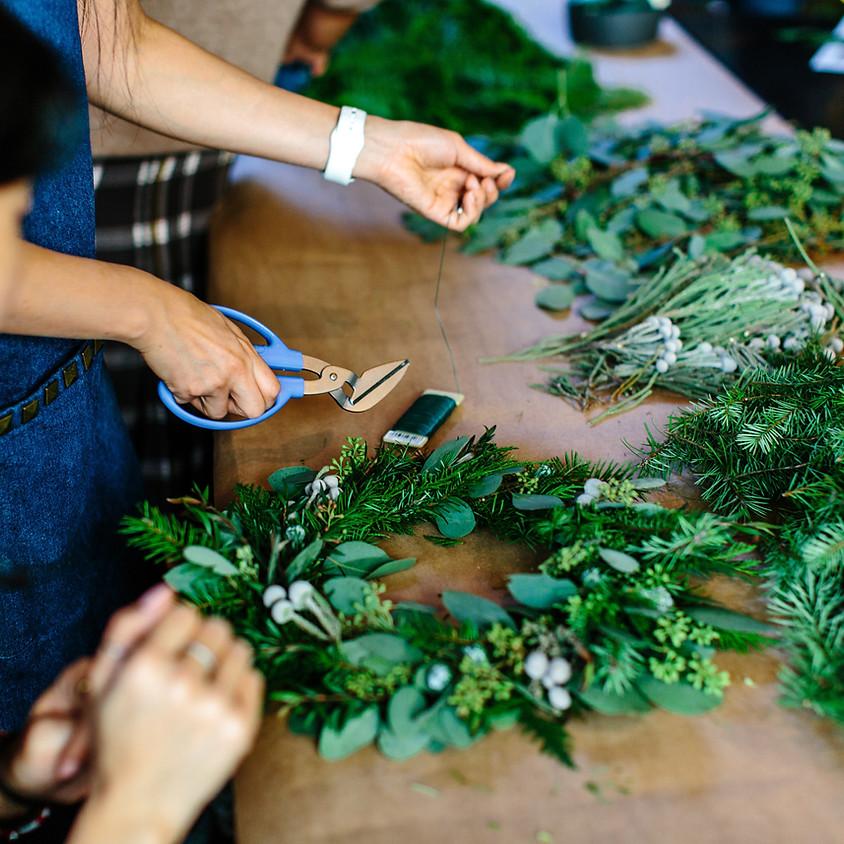 Holiday Wreath Bar    $45