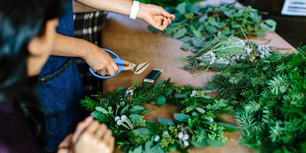 Artisan Wreath Workshop PM