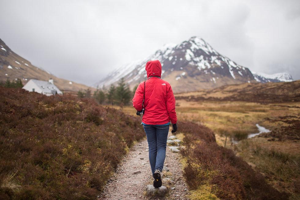 Scottish Highlands Walking Hiking