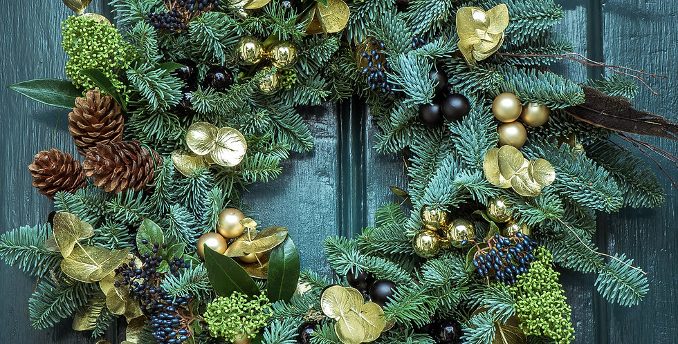Wreath Making Workshop - Wednesday 9th December, 6pm - 8pm