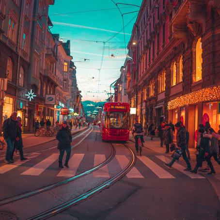 Auf Zeitreise in Innsbruck & zugige Stunden on Top of Germany