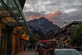 downtown canmore tour
