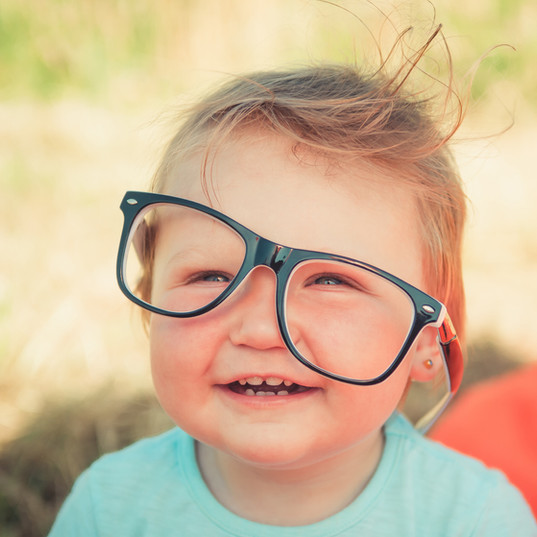 Vision screenings are done at each well visit starting at age 12 months.