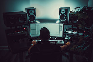 Music Producer Mixing and Mastering Music on Abelton Live