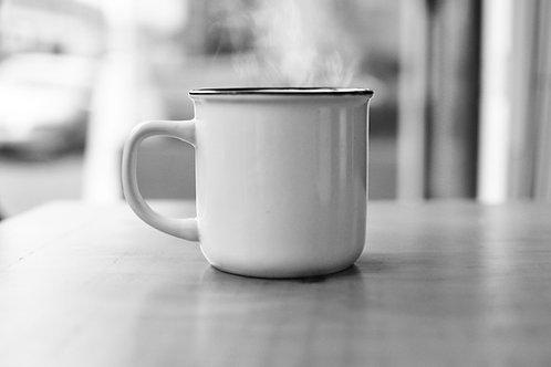 Talking carp mug