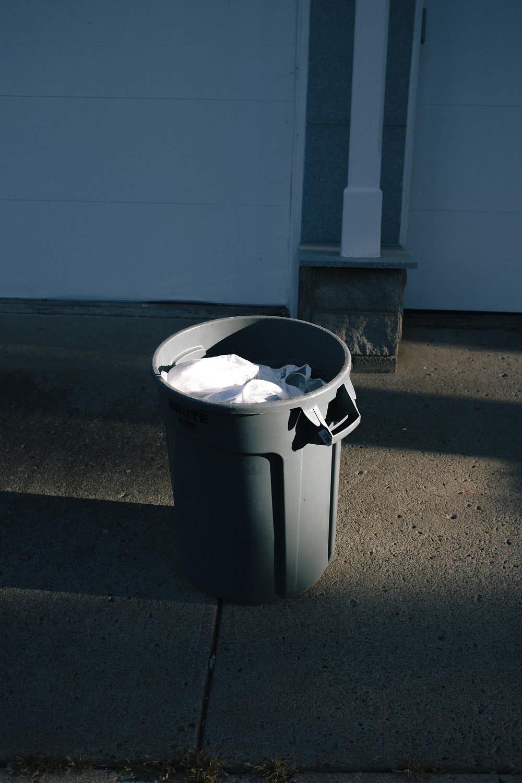 residual waste bin