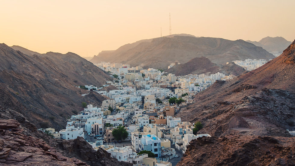 One day itinerary for Oman